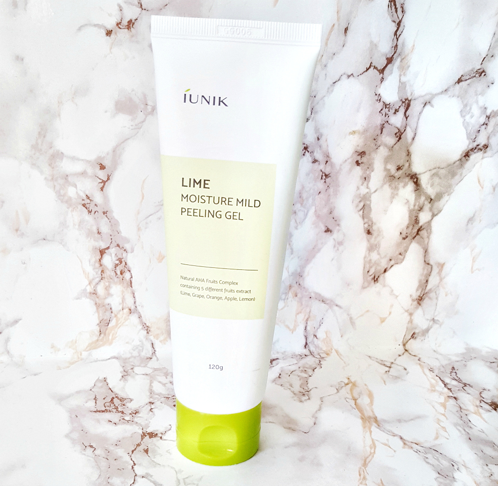 iUNIK Lime Moisture Mild Peeling Gel Review how to