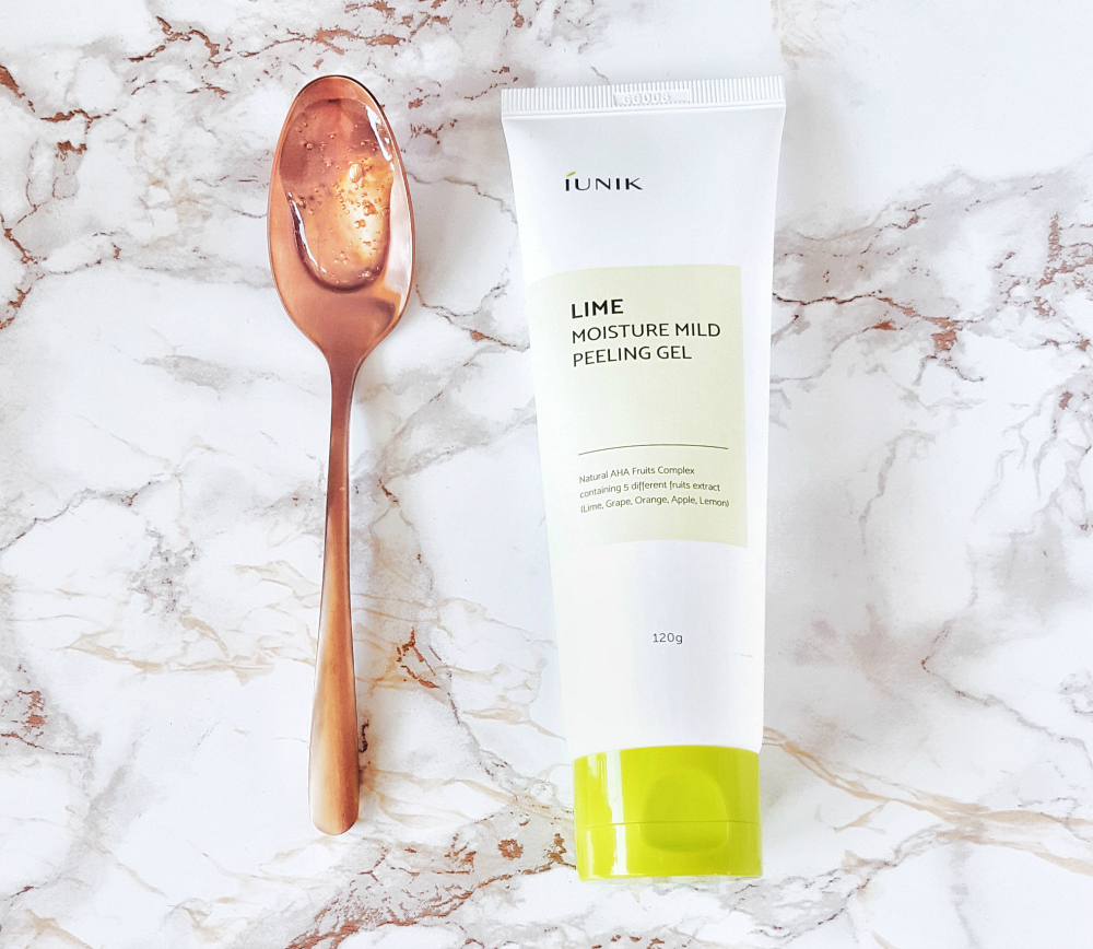 iUNIK Lime Moisture Mild Peeling Gel skincare review