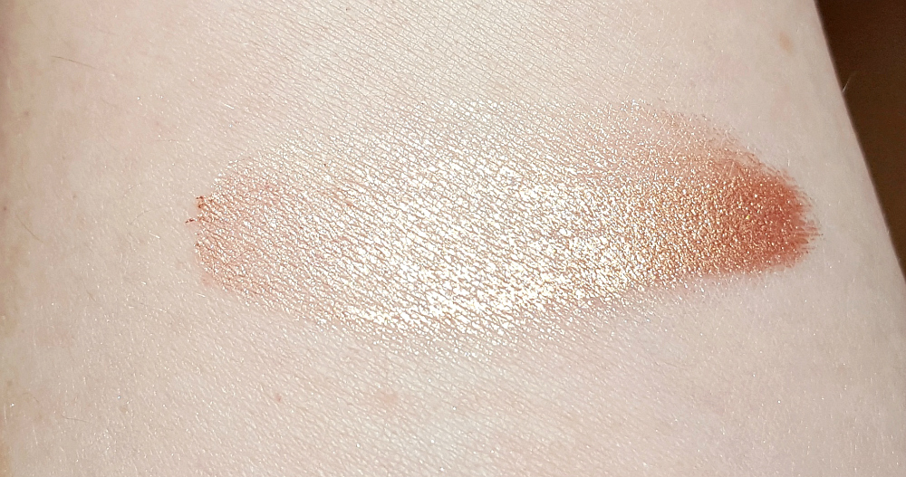 Drogerie Highlighter Catrice Aqua Fresh Highlighting Eyeshadow swatch