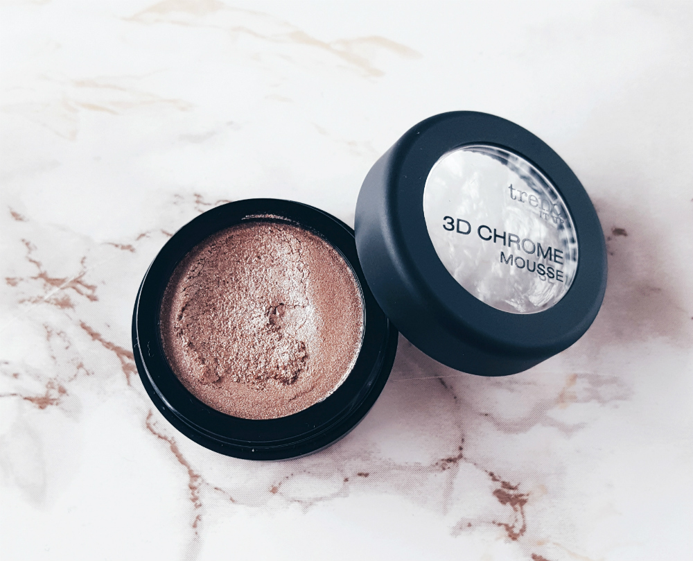 Drogerie Highlighter trend it up 3d chrome mousse offen