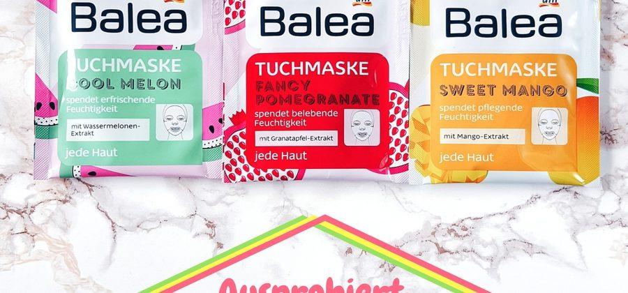 Ausprobiert: Balea Tuchmaske Limited Edition Sommer 2017