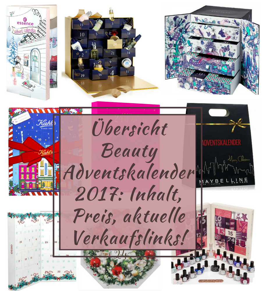 Beauty Adventskalender 2017 Inhalt