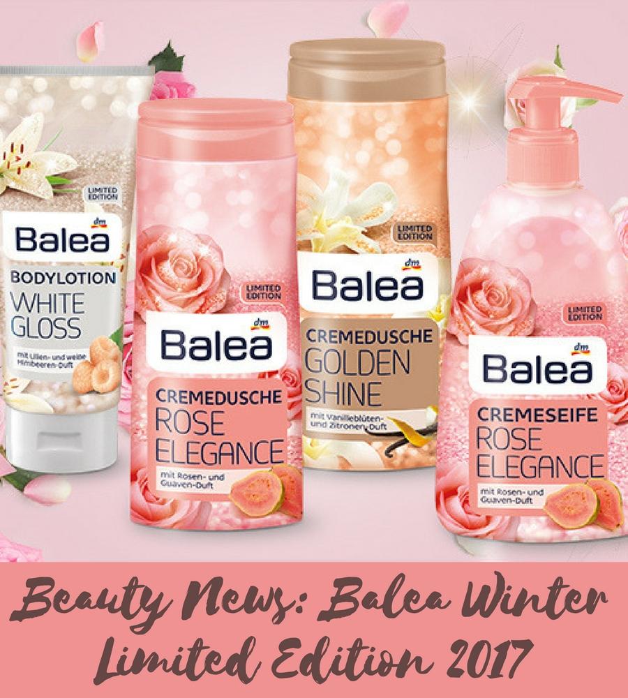 Balea Limited Edition Winter 2017 header