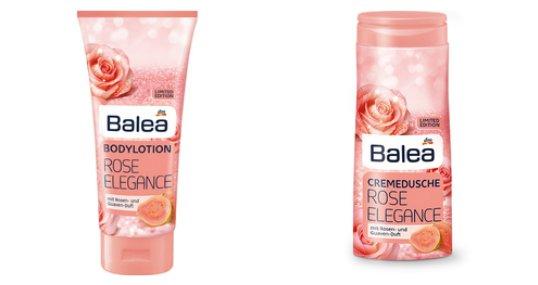 Balea Limited Edition Winter 2017 rose elegance cremedusche bodylotion