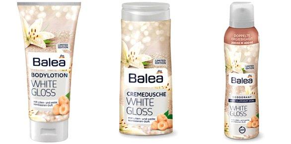 Balea Limited Edition Winter 2017 white gloss