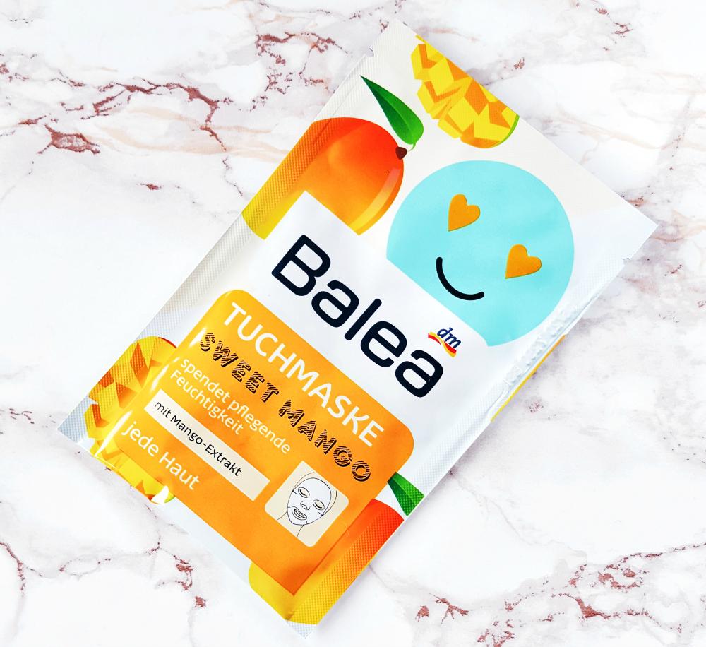 Balea Tuchmaske Sweet Mango