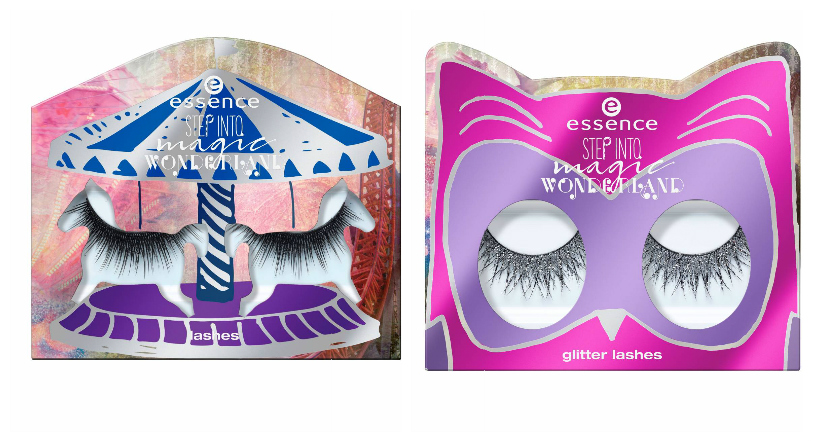 essence step into magic wonderland limited edition lashes und glitter lashes