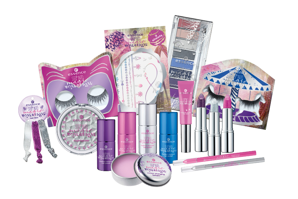 essence step into magic wonderland limited edition produkte