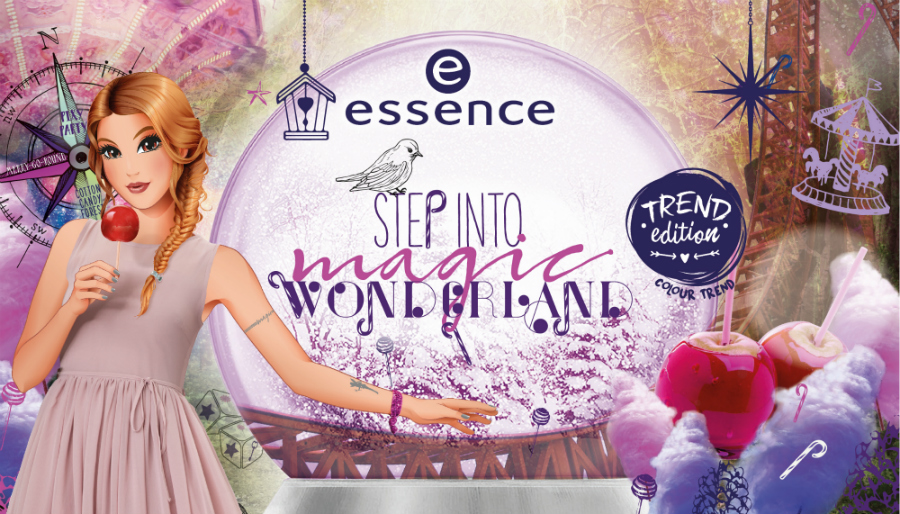 Essence Step into magic wonderland limited edition alle product