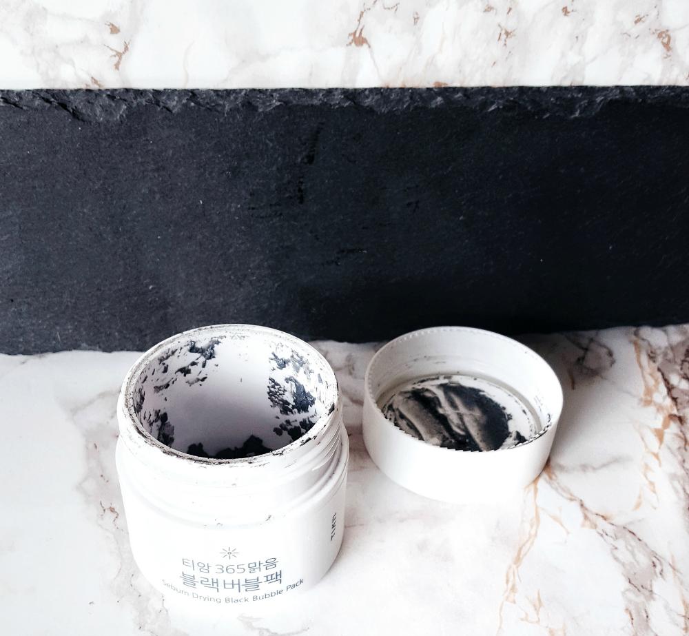 K-Beauty Empties Tiam Black Bubble Pack