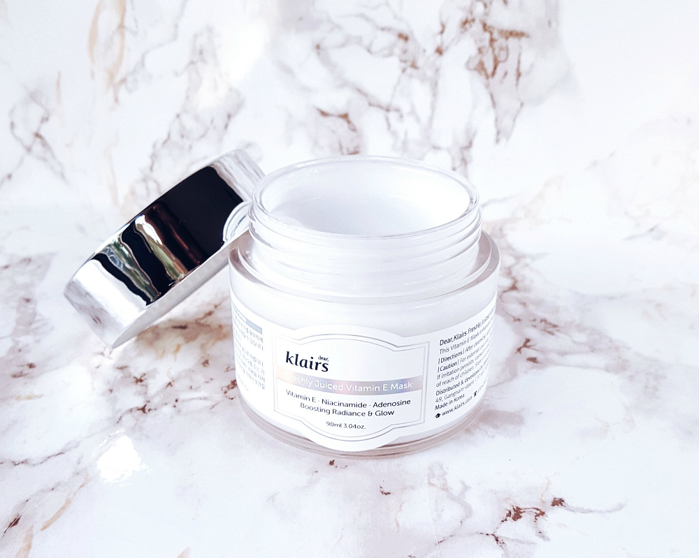 klairs freshly juiced vitamin e mask jar