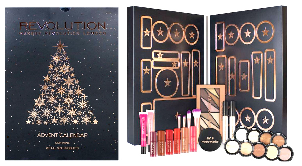 Makeup Revolution Adventskalender 2017