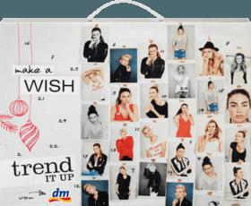 dm trend it up adventskalender 2017