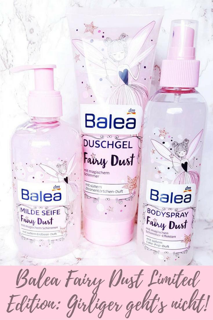 balea fairy dust limited edition girliger geht 39 s nicht. Black Bedroom Furniture Sets. Home Design Ideas