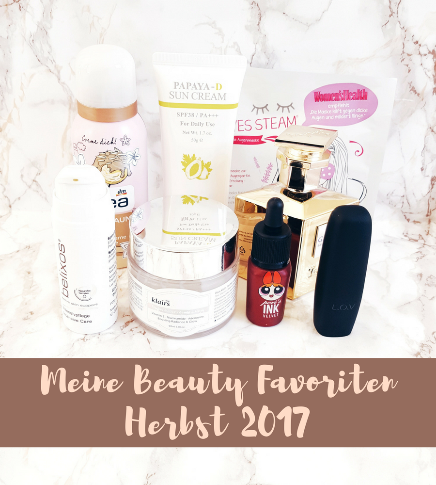 Meine Beauty Favoriten Herbst 2017