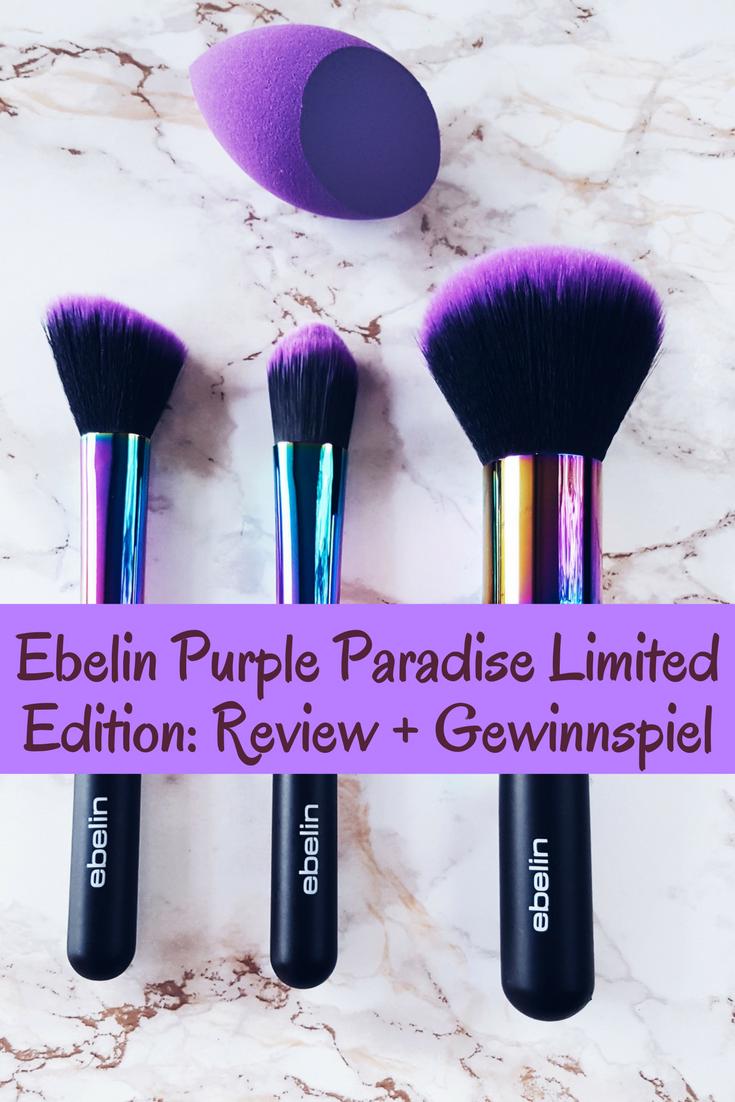 ebelin Purple Paradise Limited Edition - Review und Gewinnspiel!