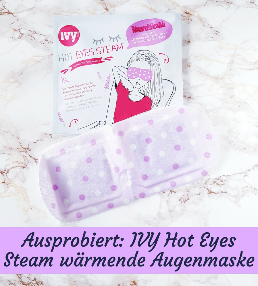 IVY Hot Eyes Steam Maske