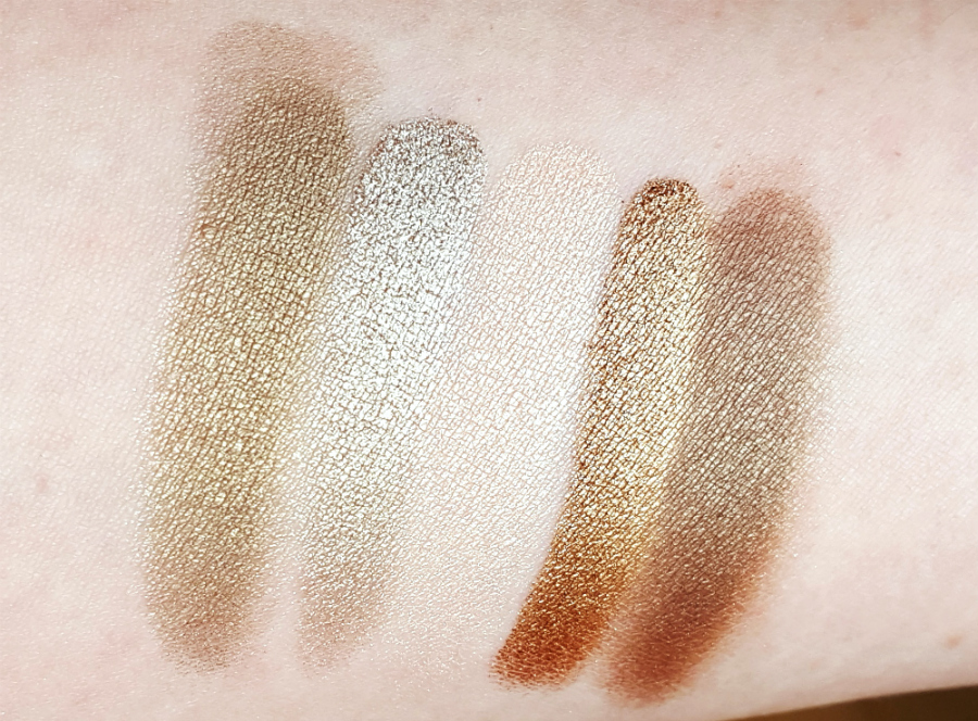 LOV Eyevotion Eyeshadow Palette Devoted to Nudes Swatches