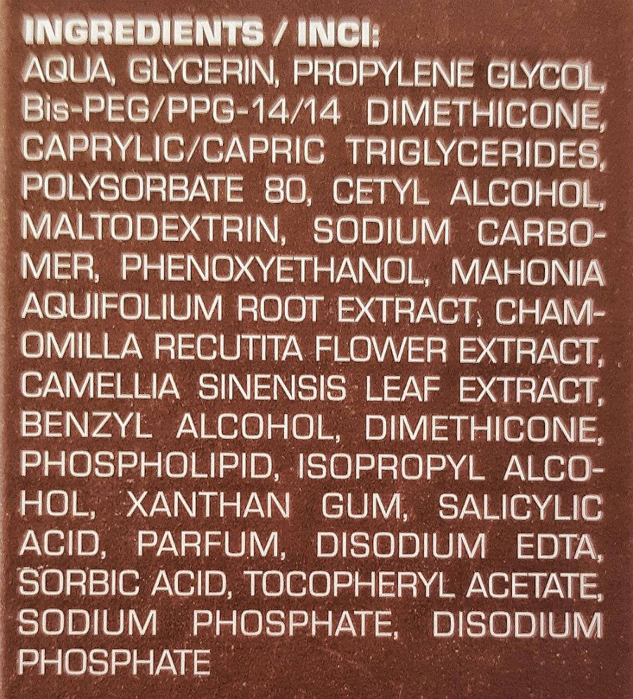 belixos Intensivpflege Inhaltsstoffe