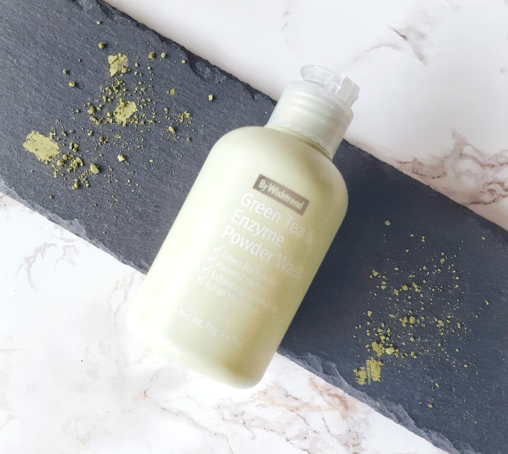 By Wishtrend Green Tea & Enzyme Powder Wash my review