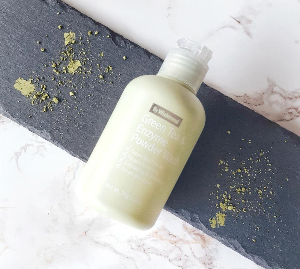 K-Beauty bei Douglas - By Wishtrend Green Tea & Enzyme Powder