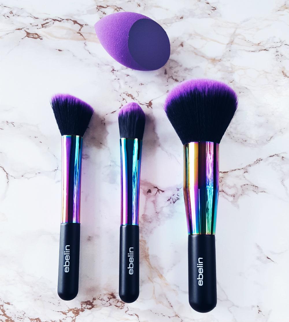 Ebelin Purple Paradise Pinsel Review