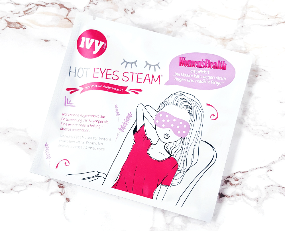 IVY hot eyes steam mask erfahrungen