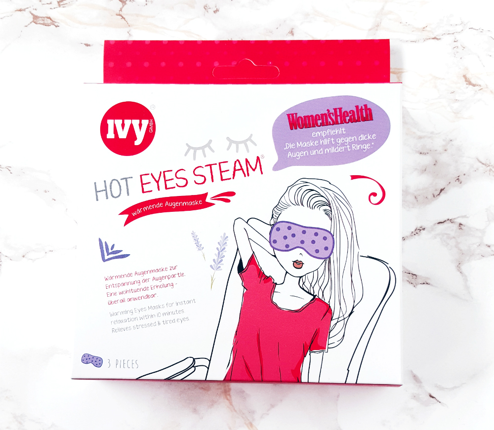 ivy hot eyes steam augenmaske ausprobiert