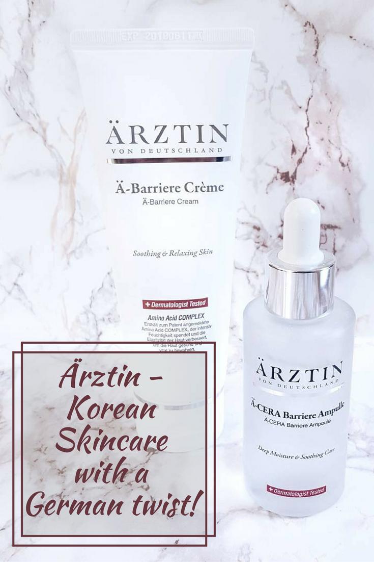 Ärztin - Korean skincare with a German twist!
