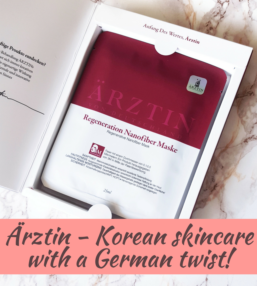 [ENG] Ärztin – Korean skincare with a German twist!