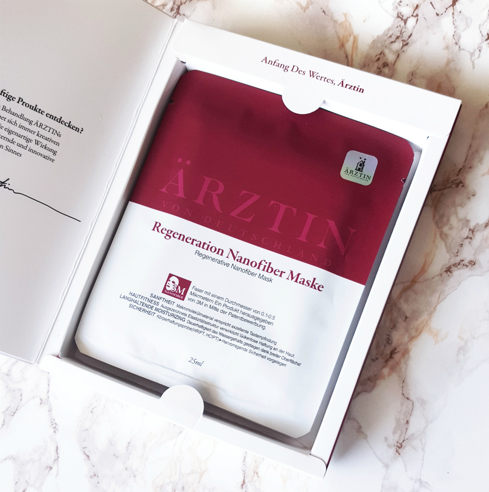 Ärztin Regeneration Nanofiber Sheet Mask