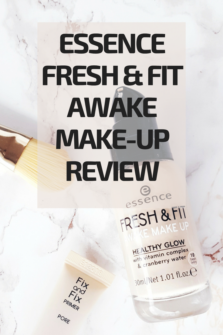 Essence Fresh & Awake Makeup - mein Review!