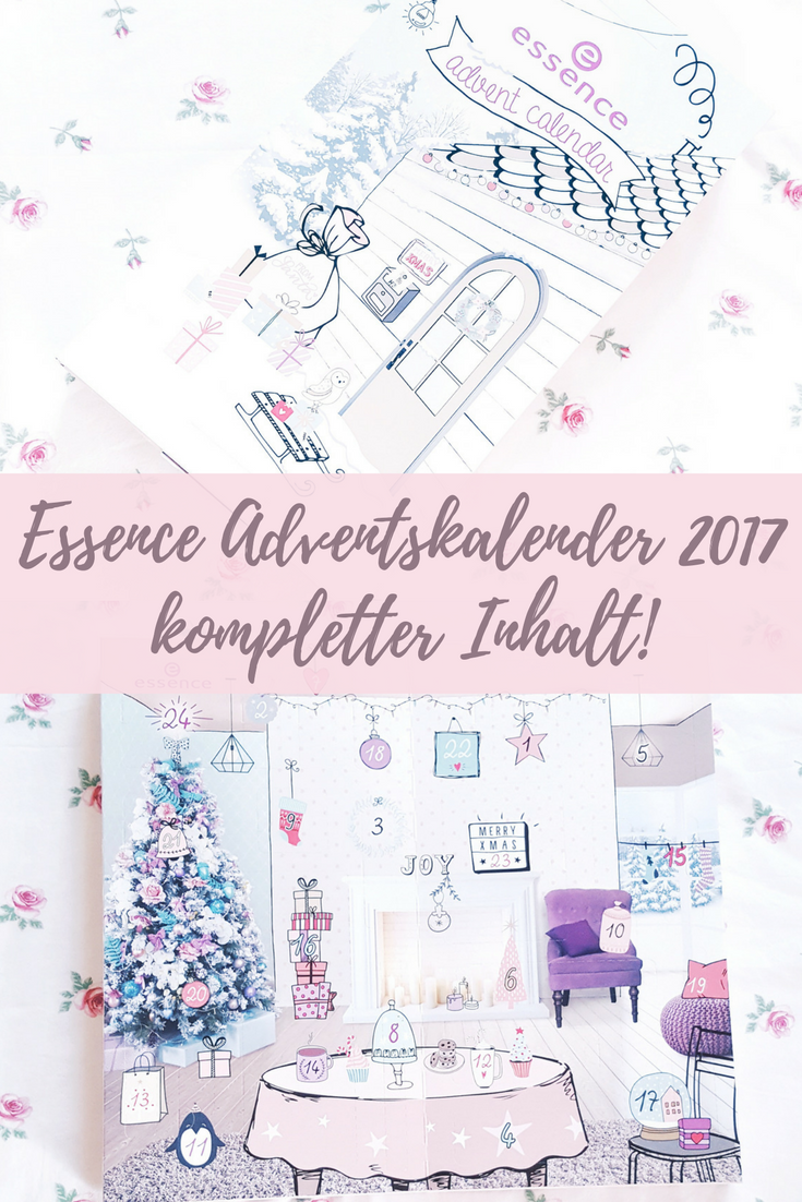 Essence Adventskalender 2017: Unboxing kompletter Inhalt!