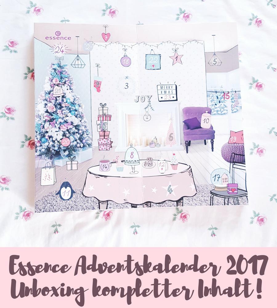 Essence Adventskalender 2017 – Unboxing KOMPLETTER Inhalt!