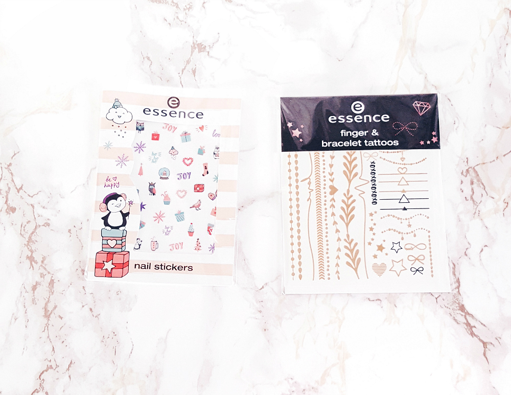 Essence Adventskalender 2017 Nail Sticker und Tattoos