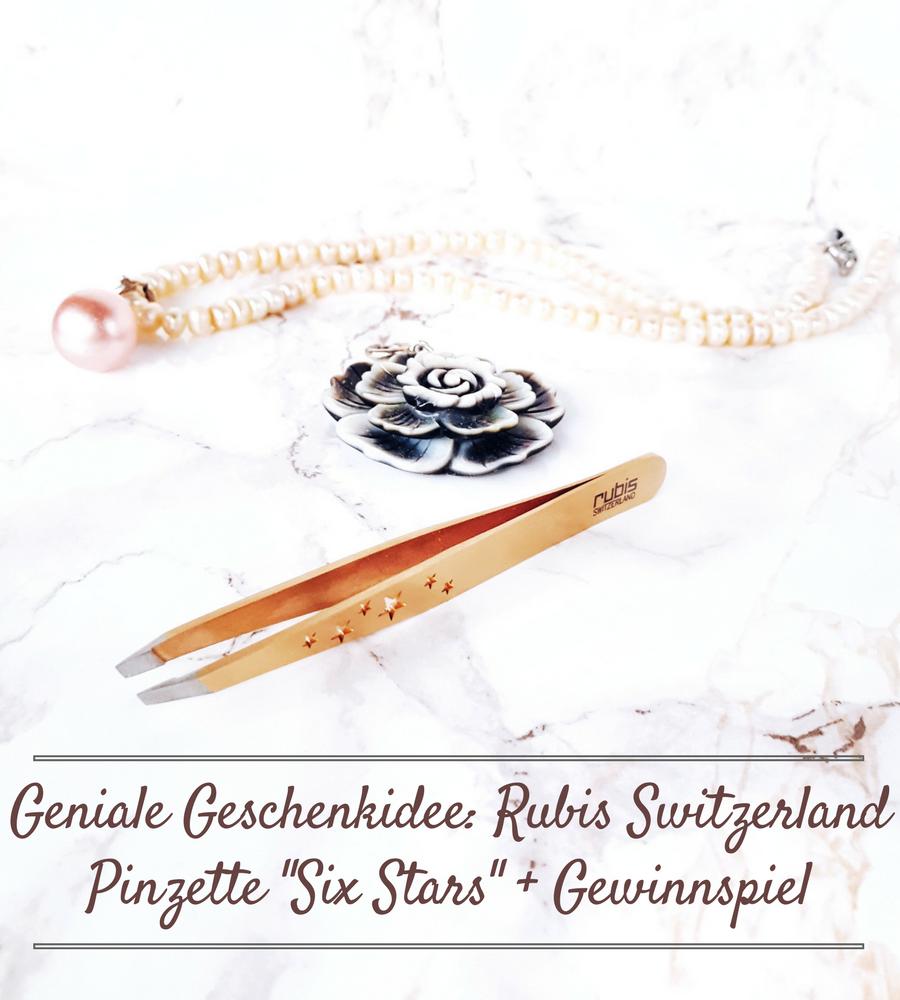 Rubis Switzerland Pinzette Six Stars rotgold