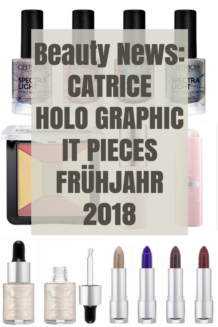 Catrice HOLO graphic It Pieces Frühling 2018