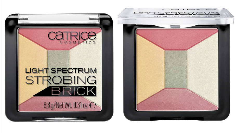 Catrice HOLO graphic It Pieces Frühling 2018 Light Spectrum Strobing Brick