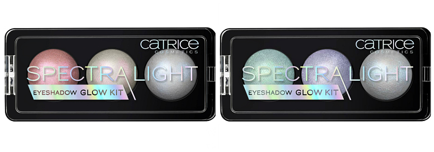 Catrice HOLO graphic It Pieces Frühling 2018 Spectra Light Eyeshadow Glow Kit