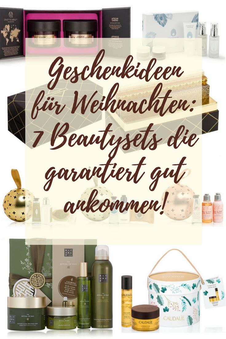 Geschenkideen für Weihnachten: 7 Beauty Sets die garantiert ankommen!