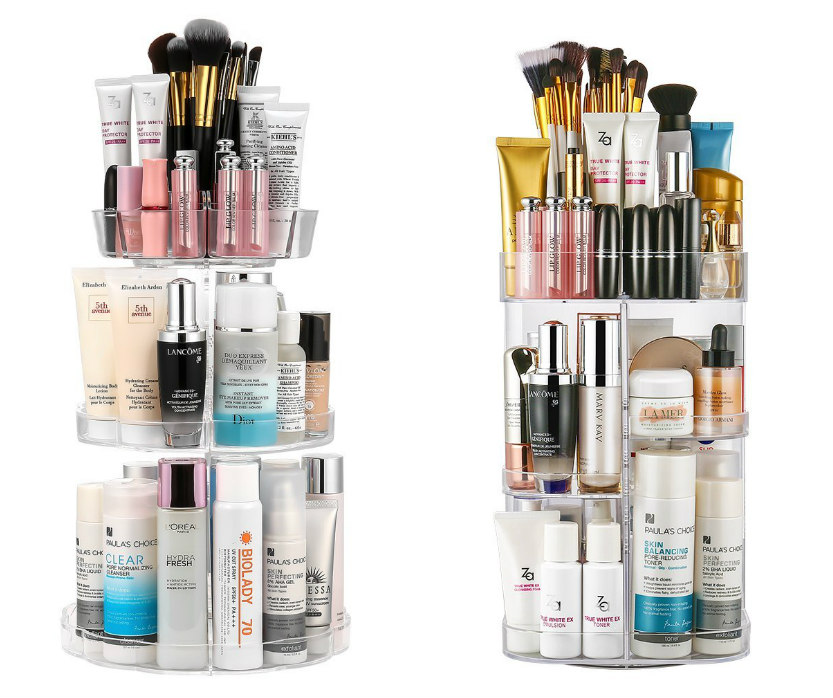 Last Minute Geschenke Ideen Kosmetik Aufbewahrung