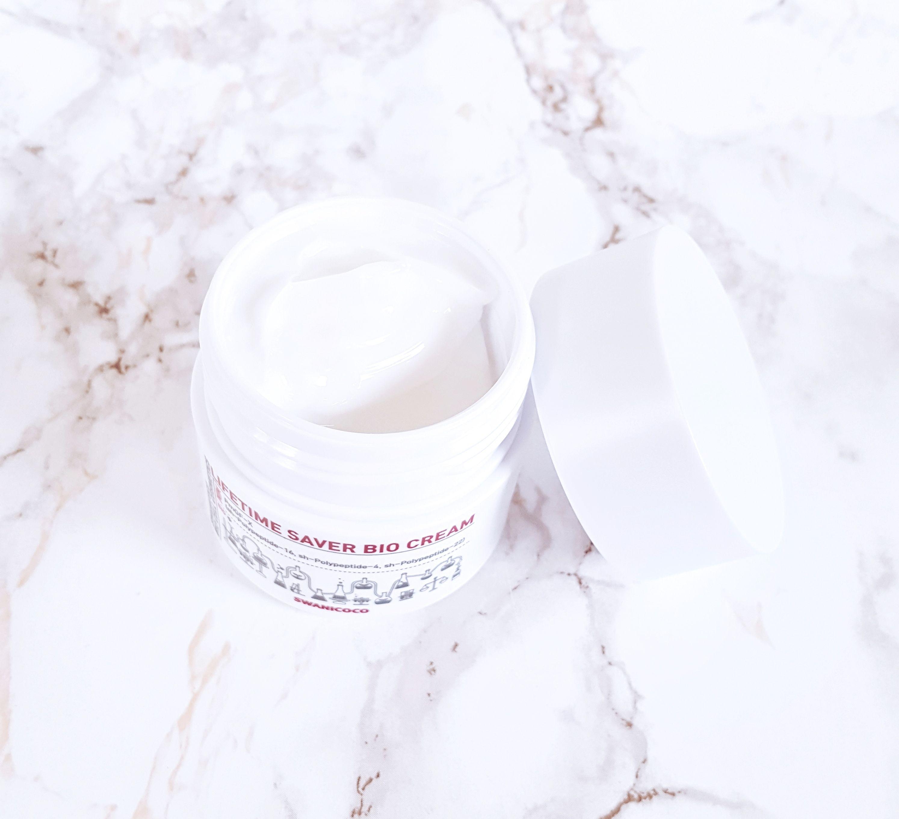 Swanicoco Lifetime Saver Bio Cream jar