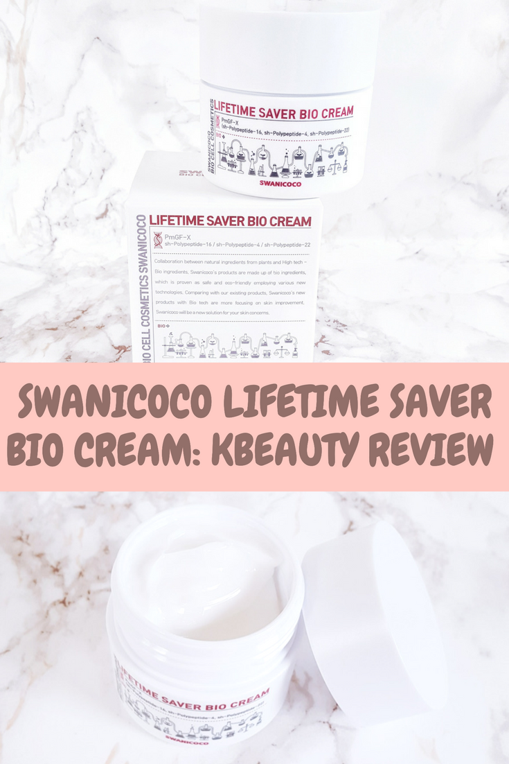 Swanicoco Lifetime Saver Bio Cream Kbeauty Review