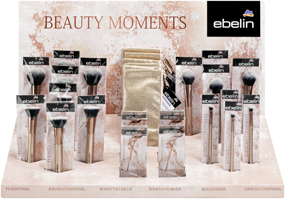 Ebelin Beauty Moments Limited Edition Display