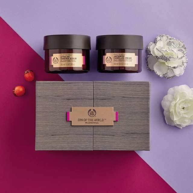 Geschenkideen Beautysets The Body Shop SPA of the World Relaxing Collection