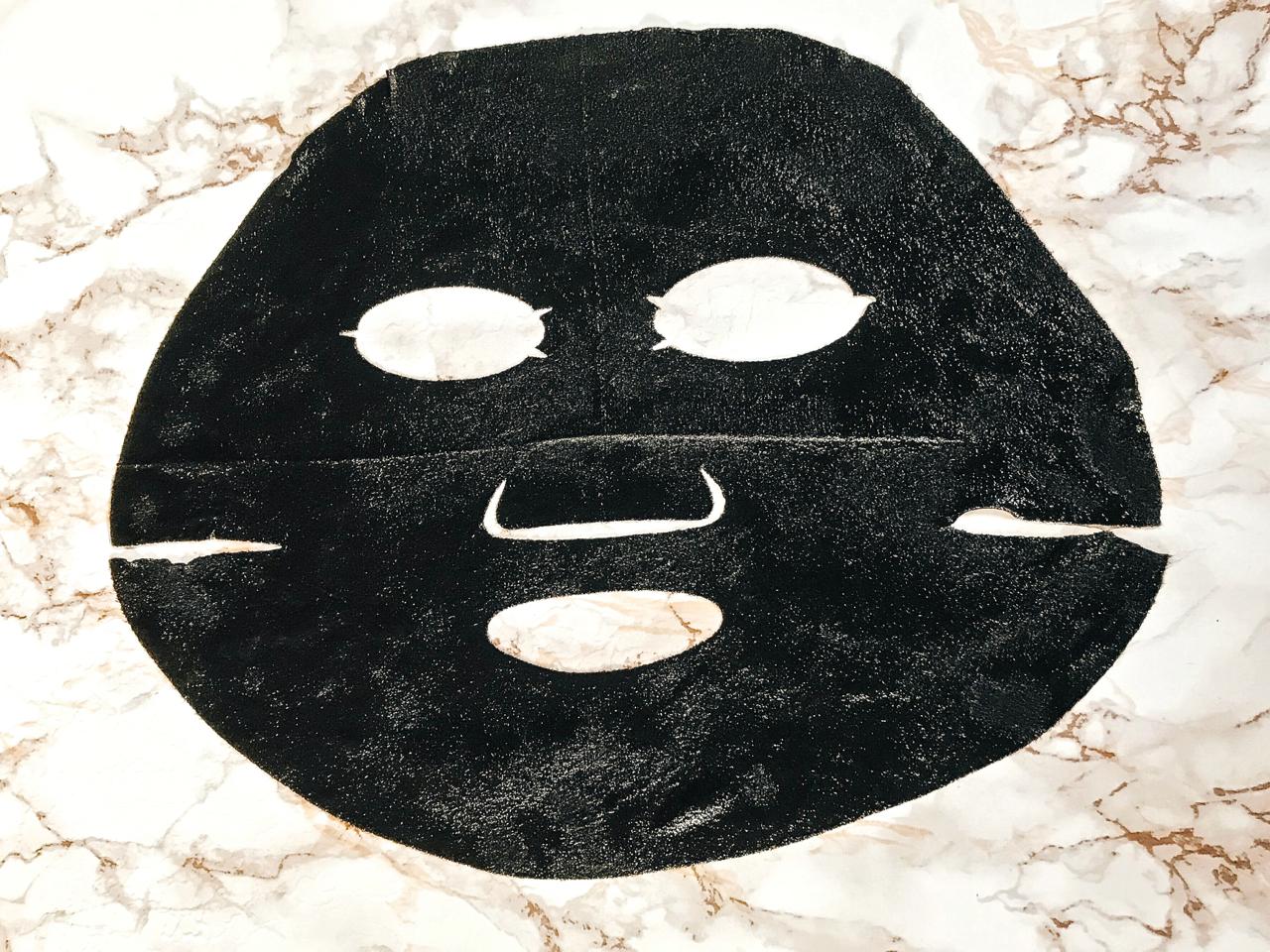 garnier skin active schwarze tuchmaske Test