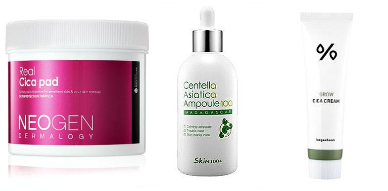 K-beauty skincare trends 2018 centella asiatica products