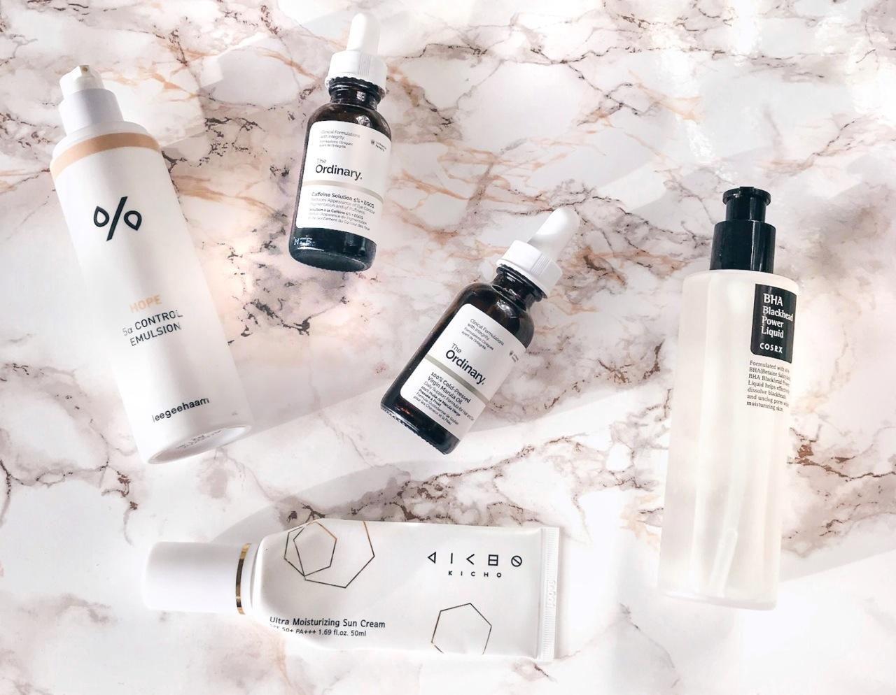 K-beauty skincare trends 2018 minimalism