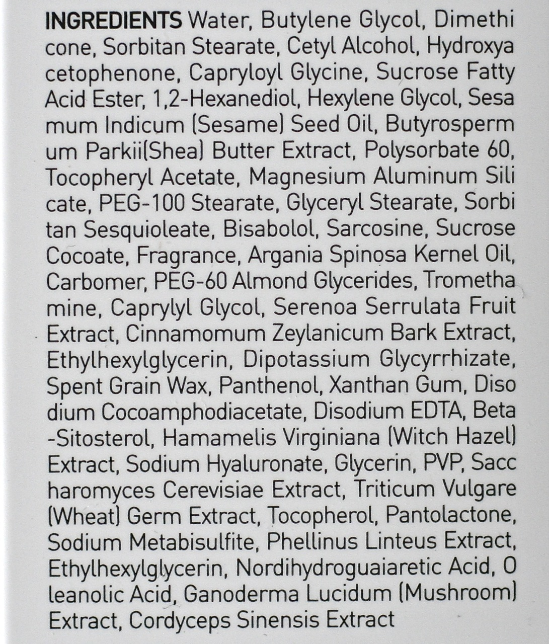 Leegeehaam 5 Alpha Control Emulsion ingredients