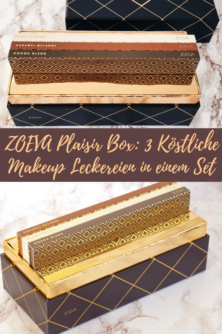 ZOEVA Plaisir Box: 3 köstliche Makeup Leckereien in einem Set